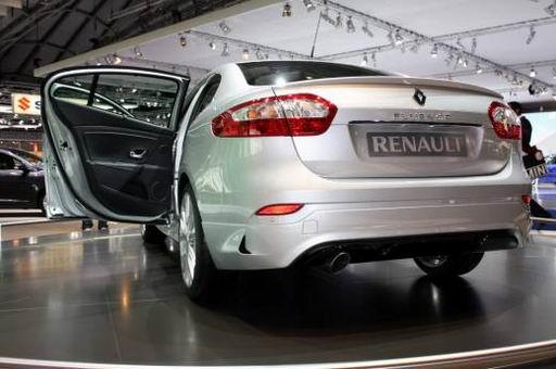 Рено Флюенс, фото и видео с франкфуртского автосалона