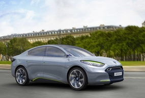 Renault Fluence Z. E.(Рено Флюенс З.Е.) новый электрокар