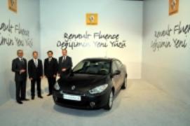 Турция планирует экспортировать автомобили «Renault Fluence» в 80 стран мира