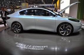 Renault представила концепт-кар Renault Fluence Z.E.